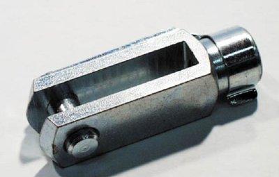Gaffel + Clip M5x20 mm