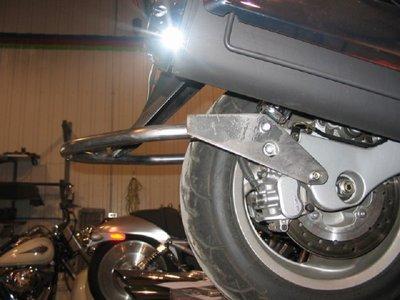600 FJS Silverwing Honda 2005-2009 Dr-