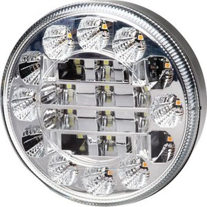 Hella ø 95 mm Achteruitrijlamp LED Inbouw helder glas
