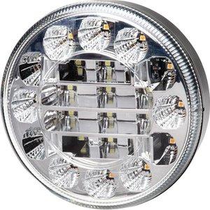 Hella ø 95 mm Achteruitrijlamp / RAW Knipperlicht LED Inbouw.