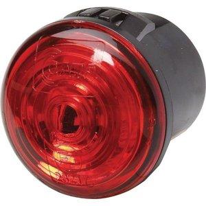 ø 30 mm Zijlicht, Rood, Hella opbouw LED