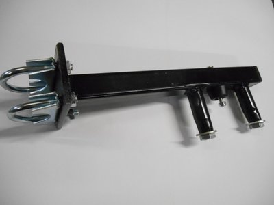 "Houder Reservewiel 16,5x650x8"", op Dissel"
