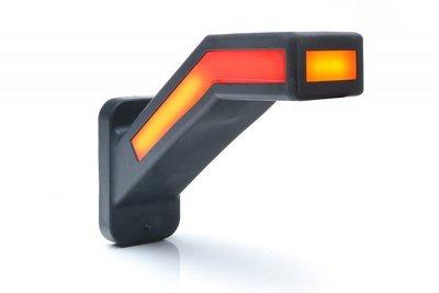 - Zijmarkering (Neon) + Richtingaanwijzer, (Dynamic),  Rechts.