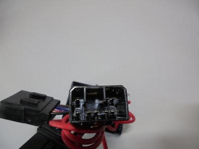 Harley Can-bus Relai-set 6-pins Platte8-pins,  5-dr.aanhanger -0160